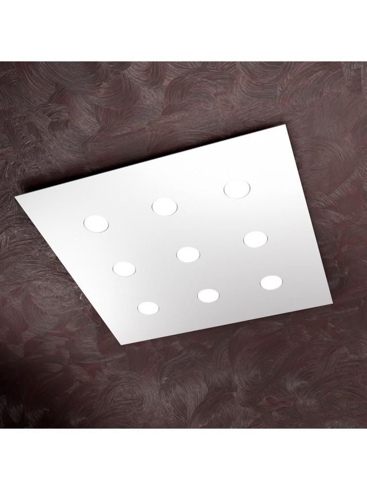 Modern ceiling light 9 lights tpl design 1127-pl9 white