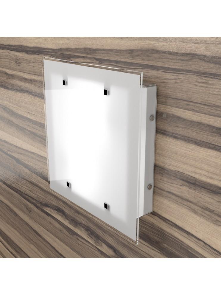 Modern ceiling light 2 lights design with tpl glass 1122-35