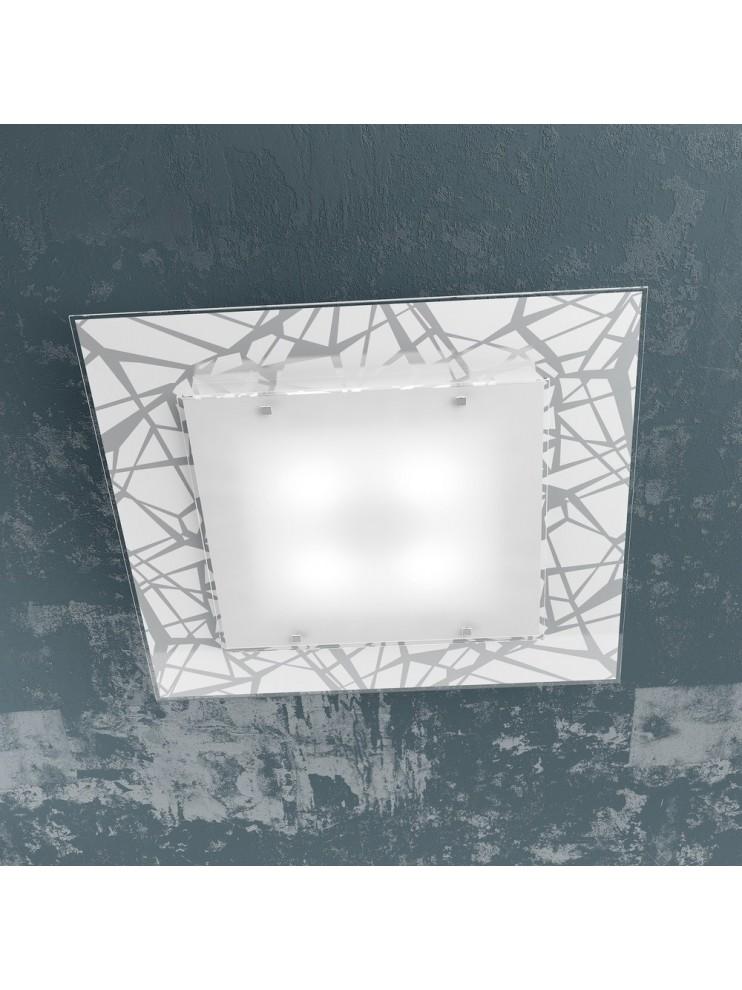 Plafoniera moderna design 4 luci tpl 1123-60