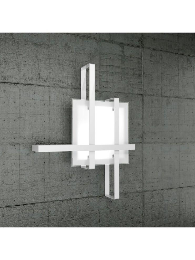 Modern ceiling light 2 lights tpl glass 1106-70cr
