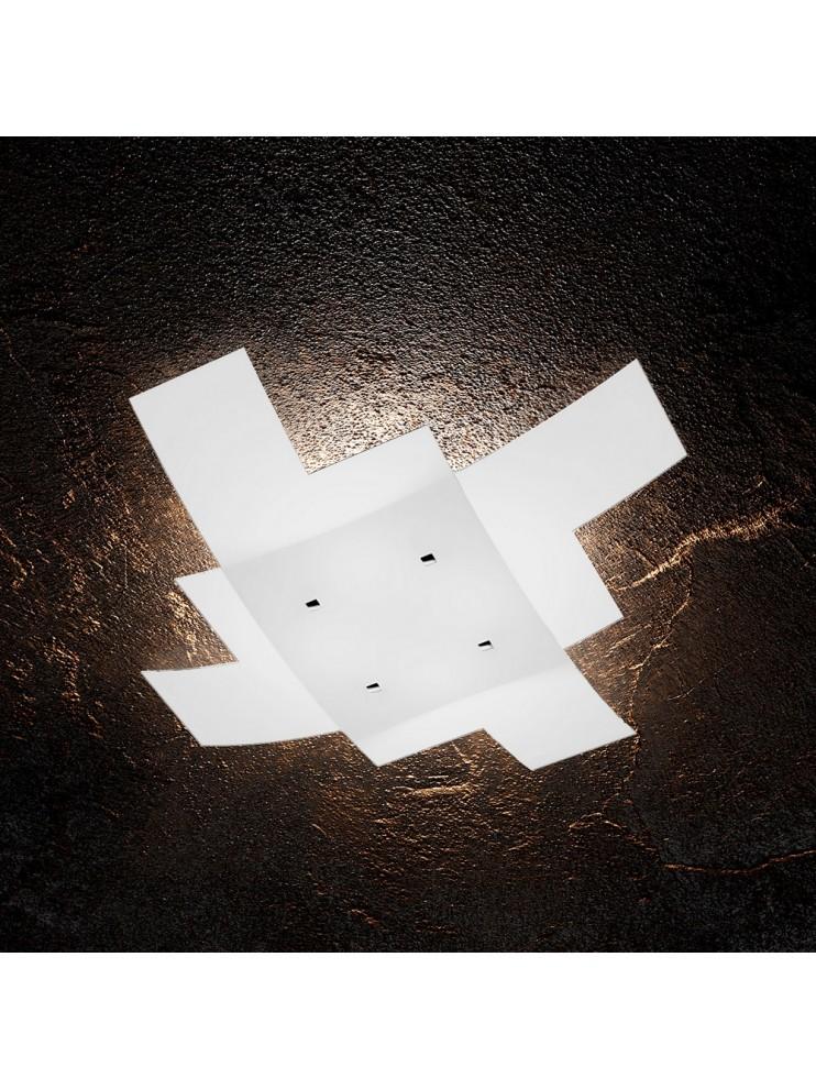 Modern ceiling light 4 lights in tpl glass 1120/75