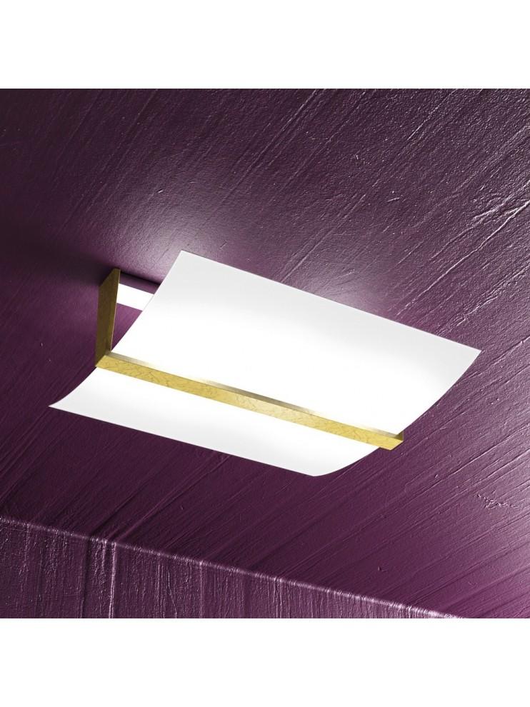 Modern ceiling lamp gold leaf 2 lights tpl 1019-pl40fo