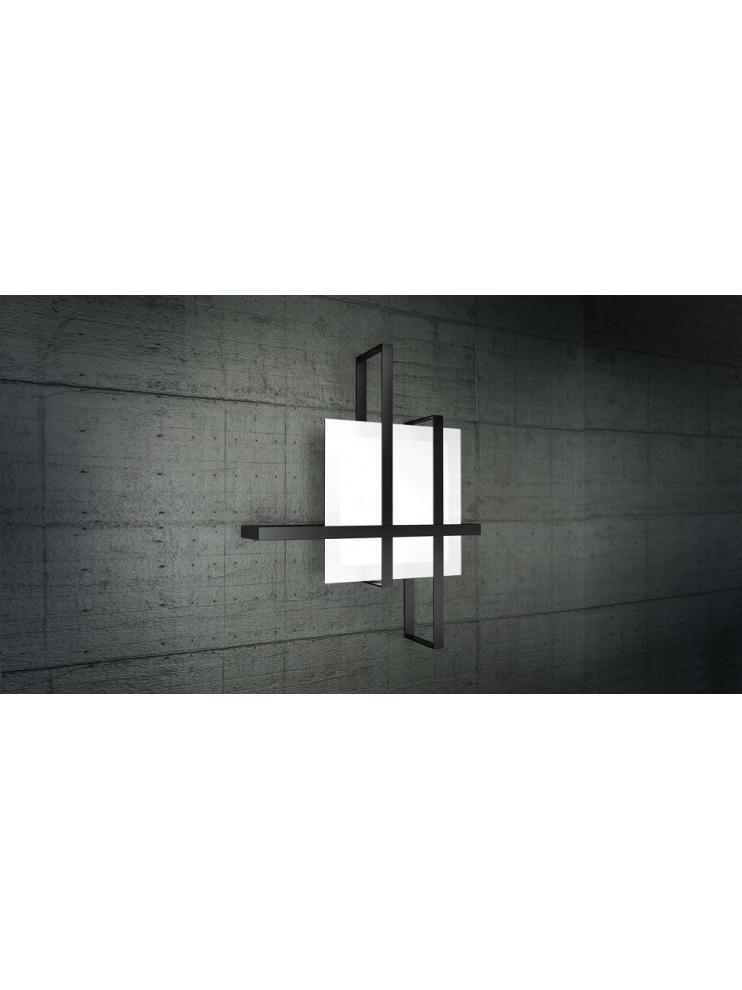 Modern ceiling lamp in glass 2 lights tpl 1106-70ne
