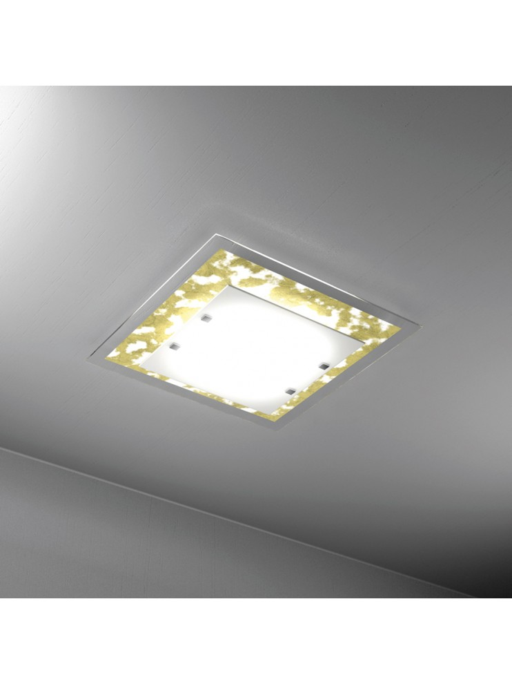 Modern ceiling lamp gold leaf 4 lights tpl 1087-pl60fo
