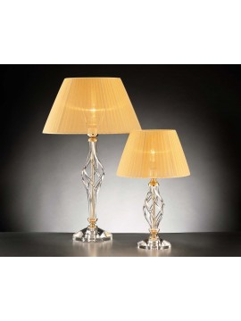 Small table lamp in classic crystal 1 light Design Swarovsky Zuela