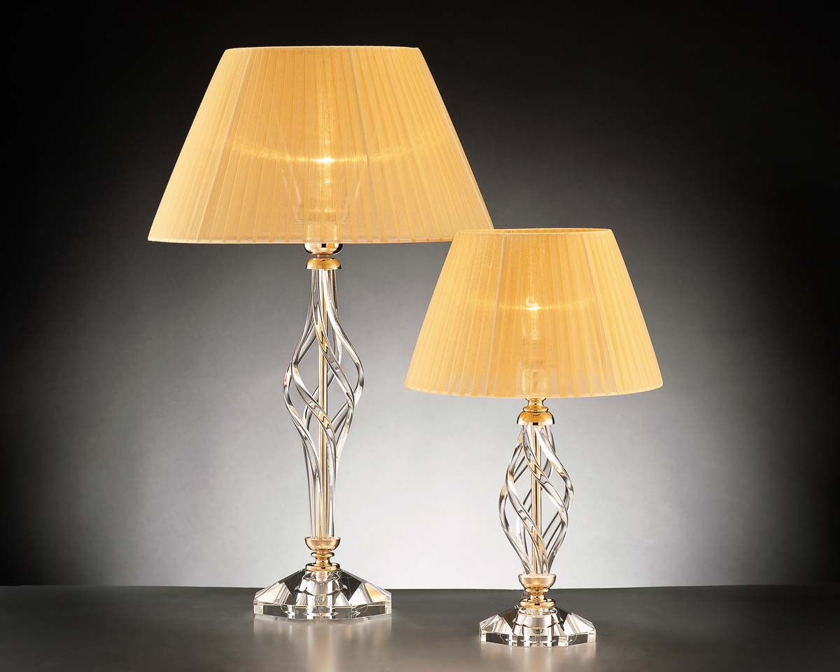Lumetto piccolo in cristallo classico 1 luce design swarovsky zuela