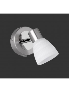 Led spot light with white glass trio 871570107 Load