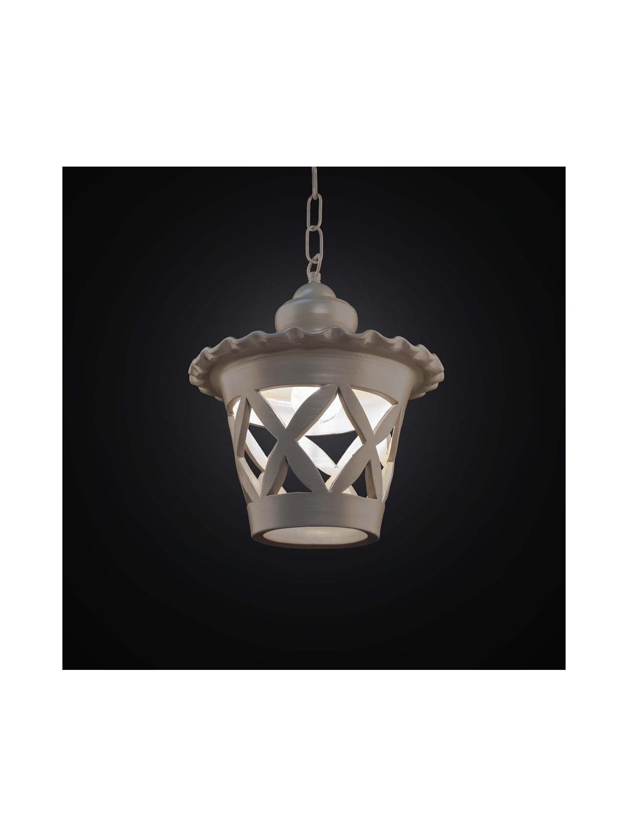 Rustic Lantern Chandelier 1 Light Bga 2585 S