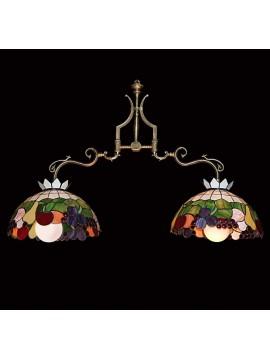 Classic brass barbell 2 lights BGA 1467-B2