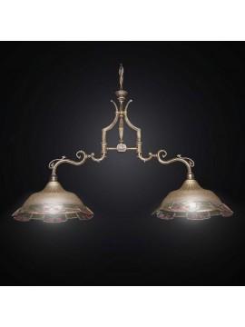 Bilanciere classico in ottone 2 luci BGA 1467-B2-2