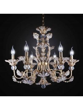 Classic Swarovsky crystal chandelier 6 lights BGA 2737-6