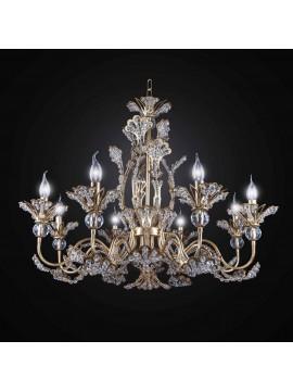 Classic Swarovsky crystal chandelier 8 lights BGA 2737-8