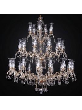 Classic crystal chandelier 30 lights BGA 1414