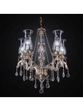 Classic Swarovsky Design Crystal Chandelier 5 lights BGA 1414