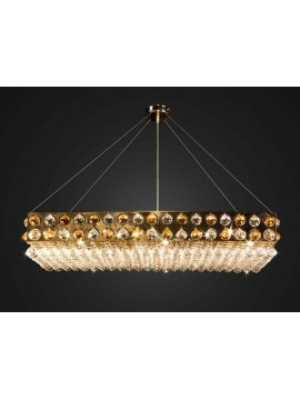 Contemporary Swarovsky chandelier 10 lights BGA 1670