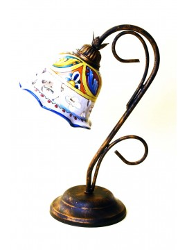 Sicilian ceramic rustic light 1 light Stella