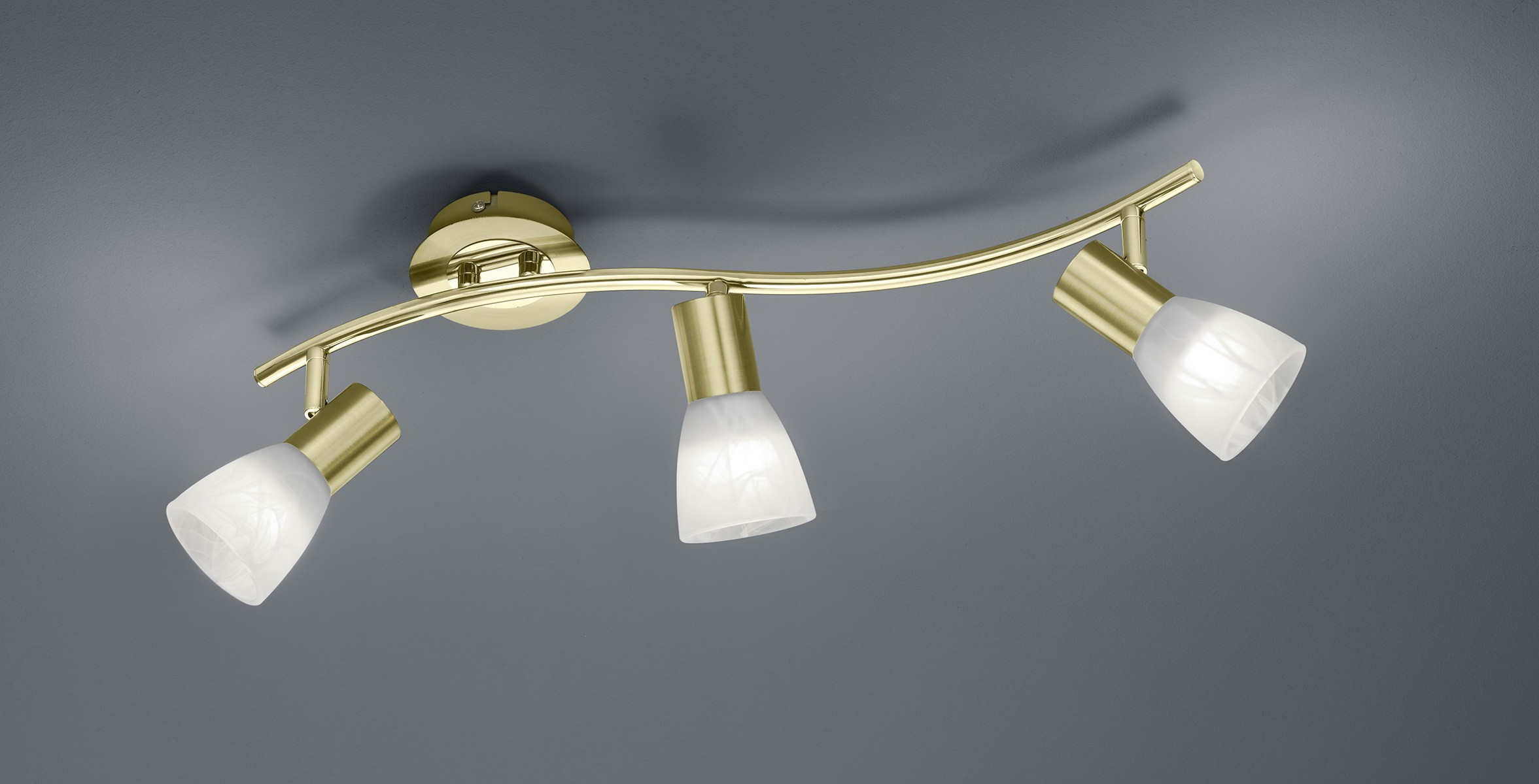 Applique rame moderno lampade da parete foglia rame stile moderno