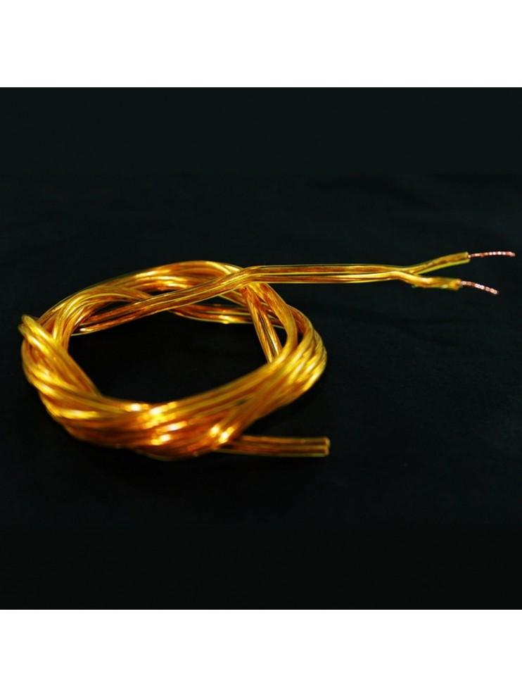 Piattina cavo colore oro ricambio lampadario.