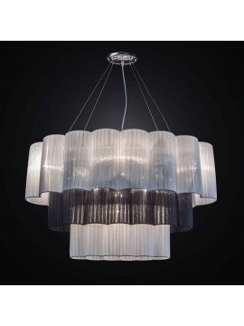 Contemporary chandelier in organza 5 lights BGA 2614 / S60