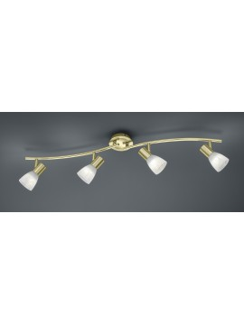 Ceiling spotlight led brass trio 871010408 Levisto