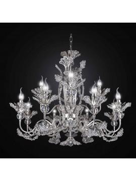 Classic Swarovsky crystal chandelier 12 lights BGA 2737-12