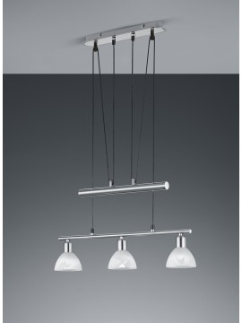 Led modern chandelier trio 371010307 Levisto