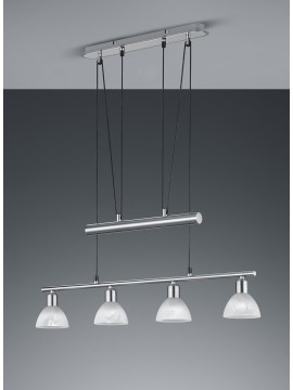 Led modern chandelier trio 371010407 Levisto