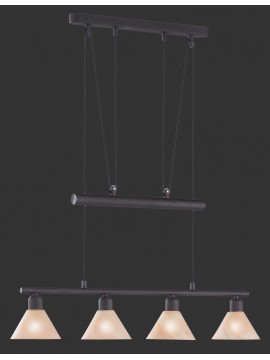 Classic chandelier rust trio 3751041-24 stamina