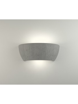 Applique moderno in cemento a 1 luce coll. 2457.005