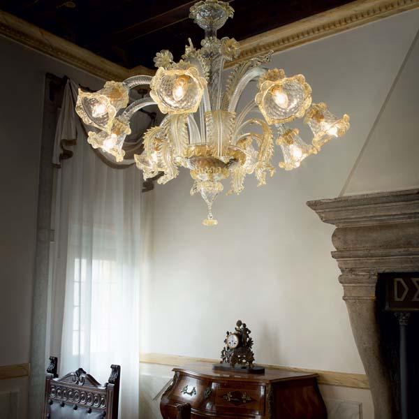 Murano chandeliers